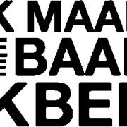 IK MAAK DE BAAN DIE IK BEN